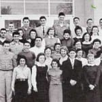 The Class of 1957 Outside Notre Dame